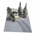 FM04 Snow Mat with tank tracks