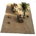 FM06 Desert Sand Mat with diagonal track