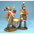 BCH07 British 1st Regiment of Foot (Scots Guards) Wounded Office