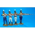 PORT09N Four Figures Firing Boxed set