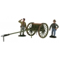 BR31293 Pre Order Confederate Light Artillery Limber with Two-Man Crew