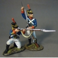 1812M-03 US Marines Loading and Firing (2 figs)
