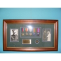 011 WW2 Frame British Soldier Africa and Italy set