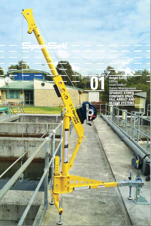 Safety Lifting Arms : Safe option solutions spanset range of equipment